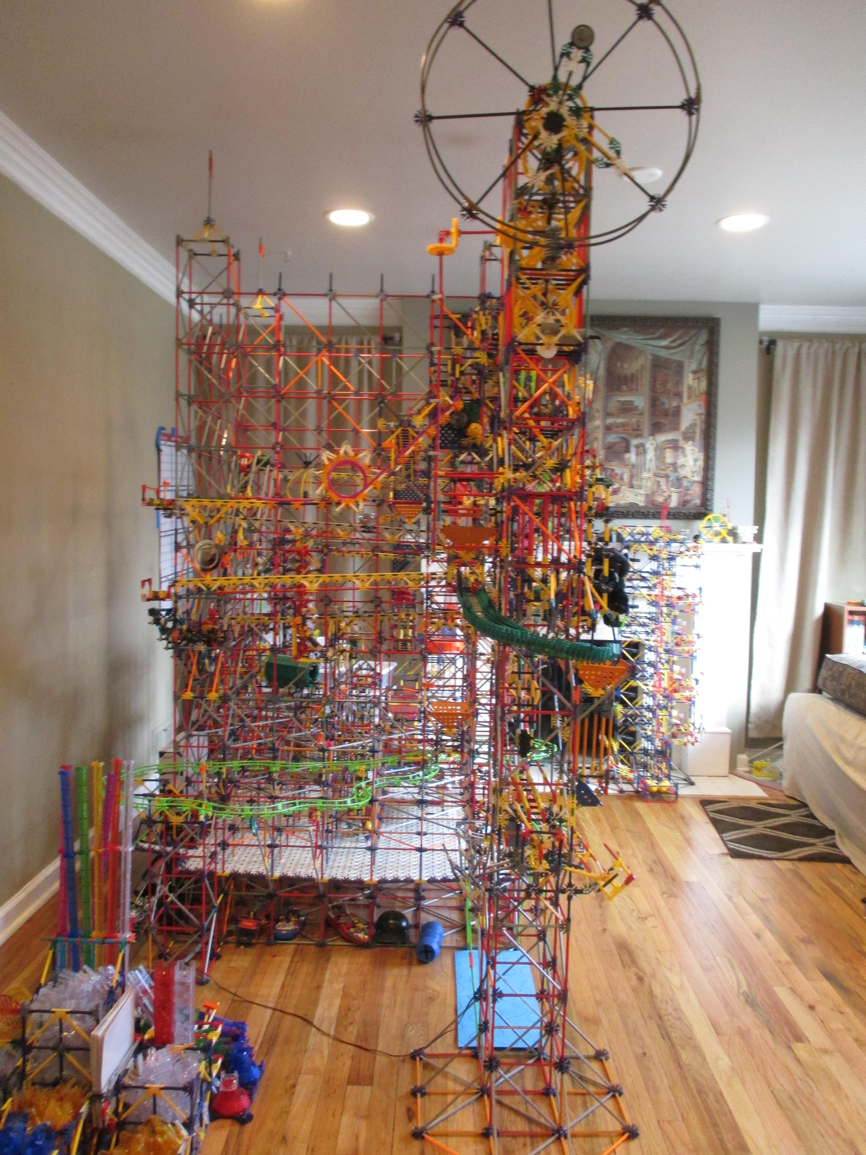Grid Tower II, Side VIew